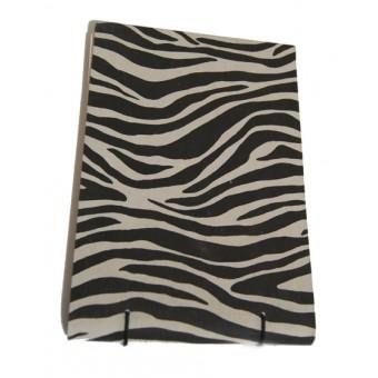 Medium Notebook - Zebra