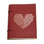 A5 Notebook - Red Heart