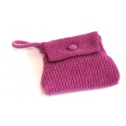 Geometric Purse - Dark Purple