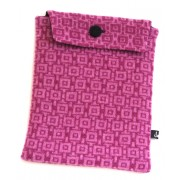 Geometric Tablet Pocket - Pink