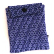 Geometric Tablet Pocket - Purple