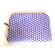 Geometric Laptop Case - Purple