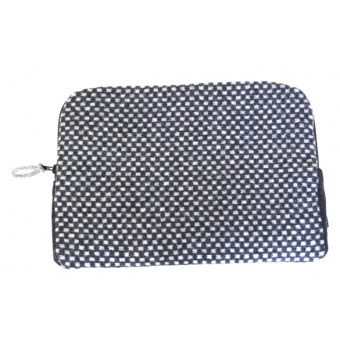 Geometric Laptop Case - Grey