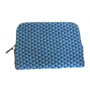 Geometric Laptop Case - Blue