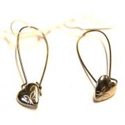 Floral Heart Earring