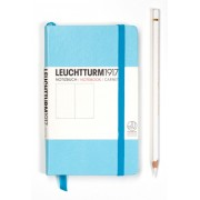 A6 Lined Notebook - Turquoise