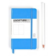 A6 Dotted Notebook - Cornflower Blue