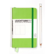 A6 Squared Notebook - Lime