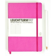 A5 Lined Notebook - Pink