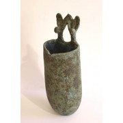 Two Hares Vase