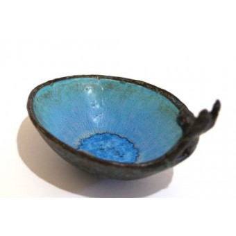 One Hare Bowl - blue inside
