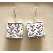 Ceramic Earrings - Birds