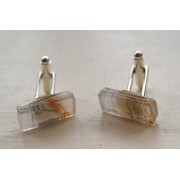 Map Cufflinks - Slaggyford