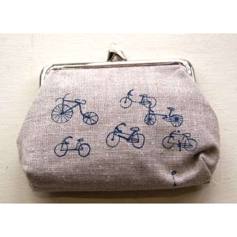 Large Purse - Bicycles