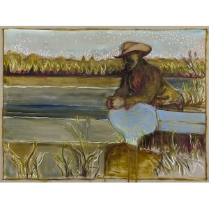 The River Garden, Kroonstad 1901 - Unframed