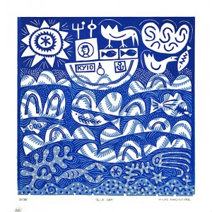 Blue Sea - Unframed