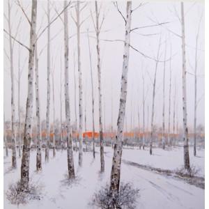 Sunset Winter woods II