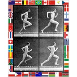 'Running'  Peter Blake