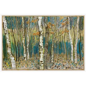 Birch Wood - Unframed