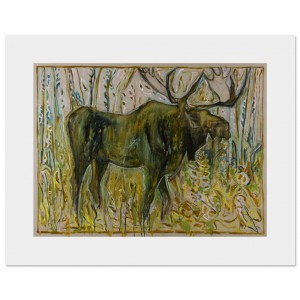 Moose - Framed