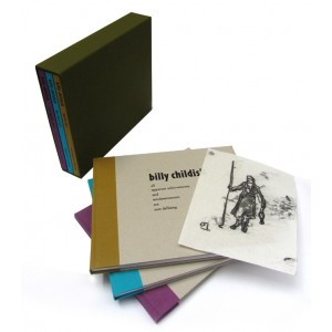 BILLY CHILDISH 3 Volume Catalogue Set in Slipcase SIGNED LIMITED EDITION with MONO PRINT